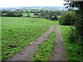 SJ9154 : Footpath towards Hollin House by Chris Wimbush