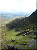 NY3228 : The corrie below Foule Crag, Blencathra by Karl and Ali