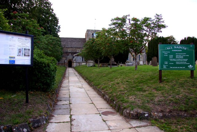 All Saints Church in Faringdon