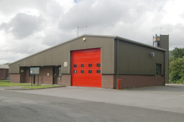 Hawes fire station