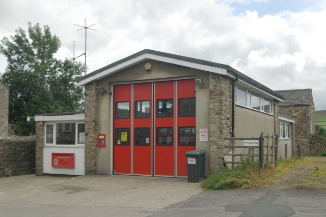 Reeth fire station