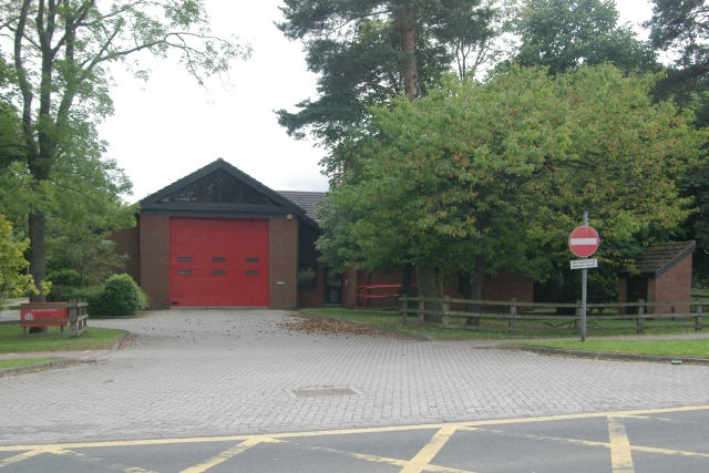 Colburn fire station