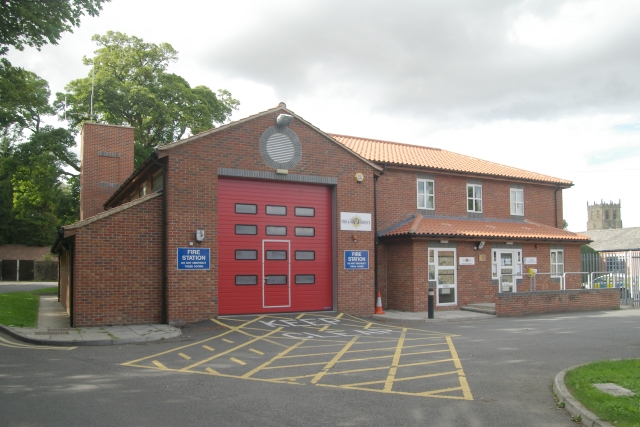 Bedale fire station