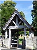 SO8700 : Lych gate, The Church of the Holy Trinity by Maigheach-gheal