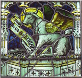 SO8700 : Stained glass window, The Church of the Holy Trinity by Maigheach-gheal