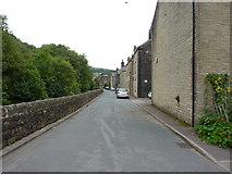 SD9827 : Stubbing Holme Road, Hebden Bridge by Alexander P Kapp