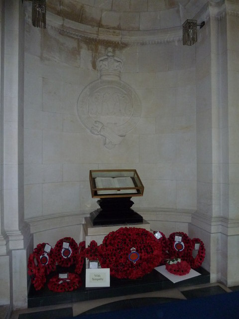 Guards Chapel: Blues and Royals, book of remembrance
