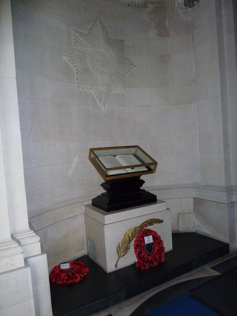 Guards Chapel: Coldstream Guards, book of remembrance