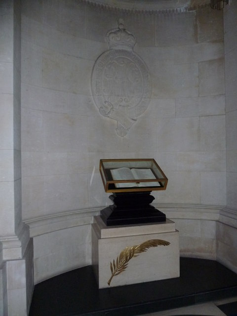 Guards Chapel: Grenadier Guards, book of remembrance