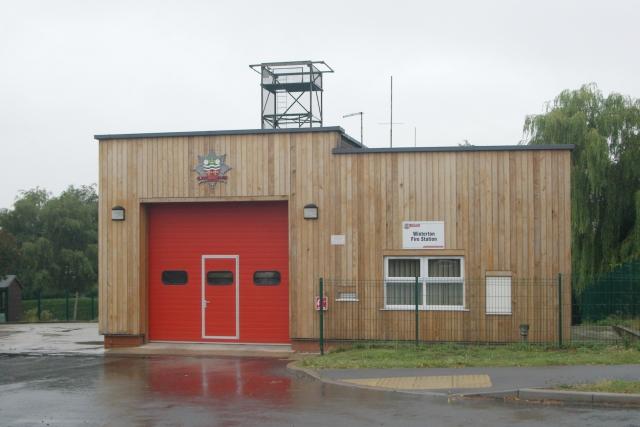 Winterton fire station