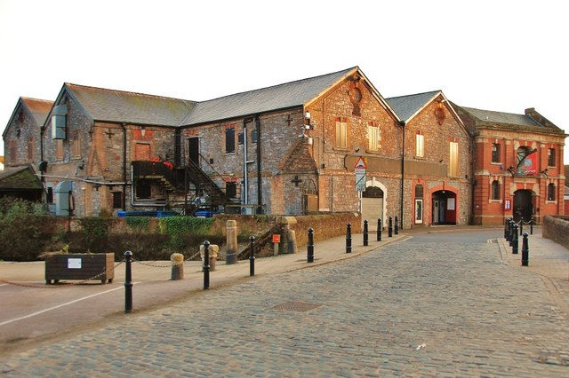 Exeter Old Warehouses By The Quay 169 Eugene Birchall Cc By