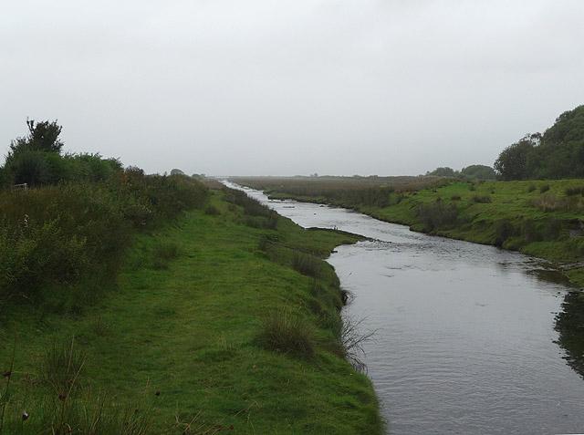 Afon Cletwr below Craig-y-penrhyn