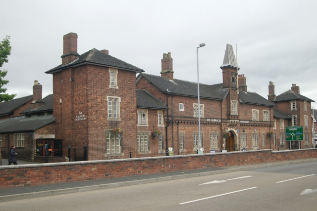 Newcastle Under Lyme old Fire Brigade Headquarters