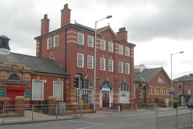 Reddish old fire station