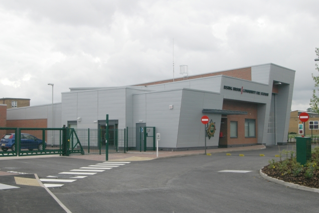 Rising Brook (Stafford) fire station