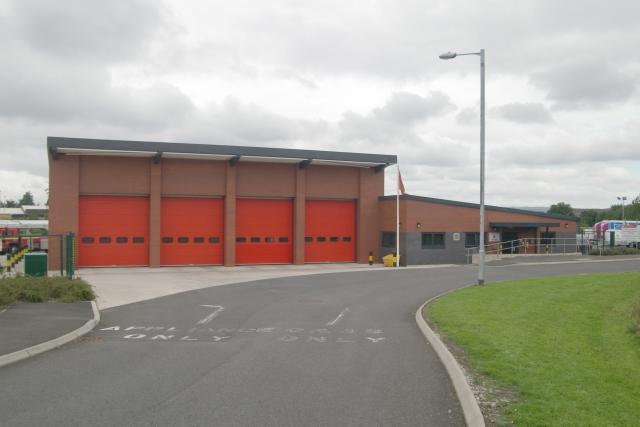 Ashton-under-Lyne fire station