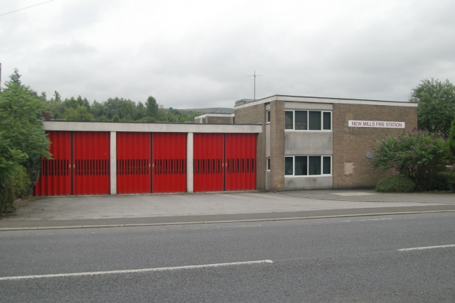New Mills fire station
