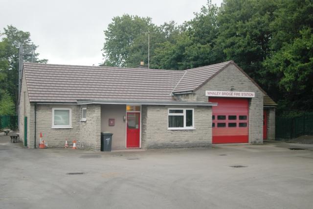 Whaley Bridge fire station
