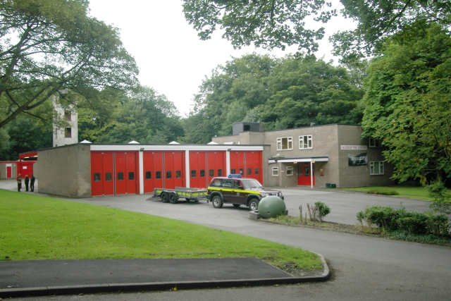 Glossop fire station