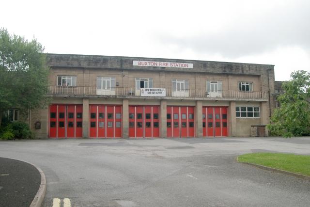 Buxton fire station