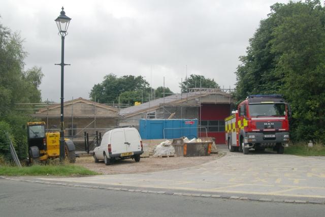 Longnor fire station
