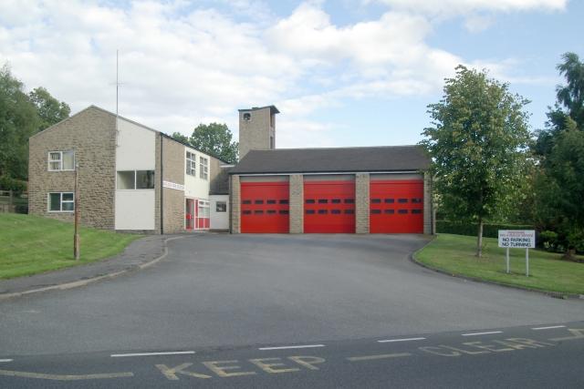 Matlock fire station