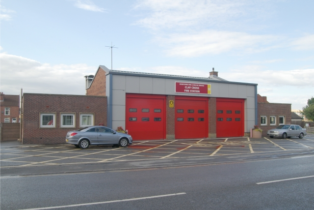 Clay Cross fire station