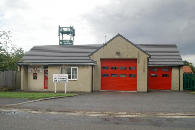 Bolsover fire station