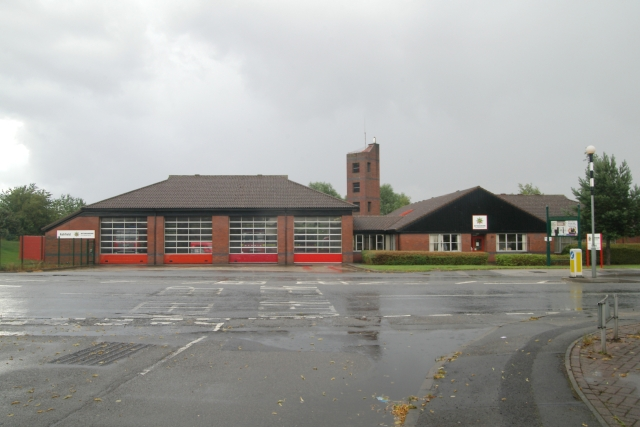 Kirkby In Ashfield fire station