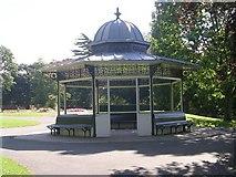 SE3238 : Shelter - Roundhay Park by Betty Longbottom