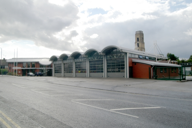 Mansfield fire station