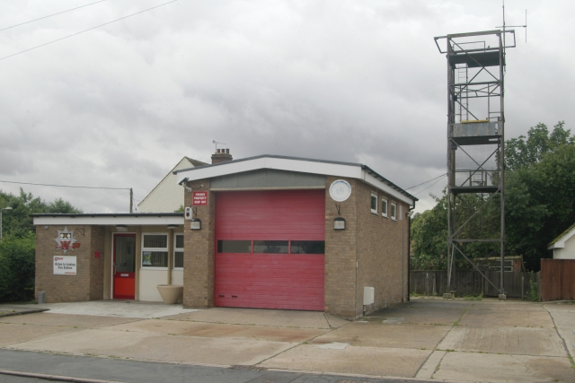 Kirton Lindsey fire station