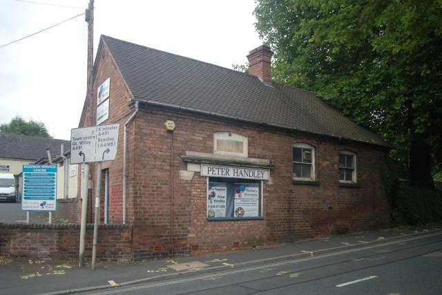 Stourport old fire station