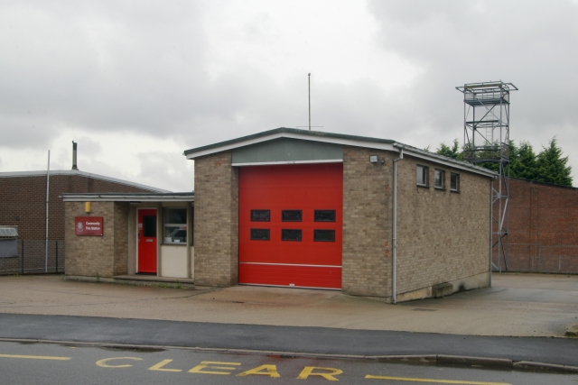 Caistor fire station