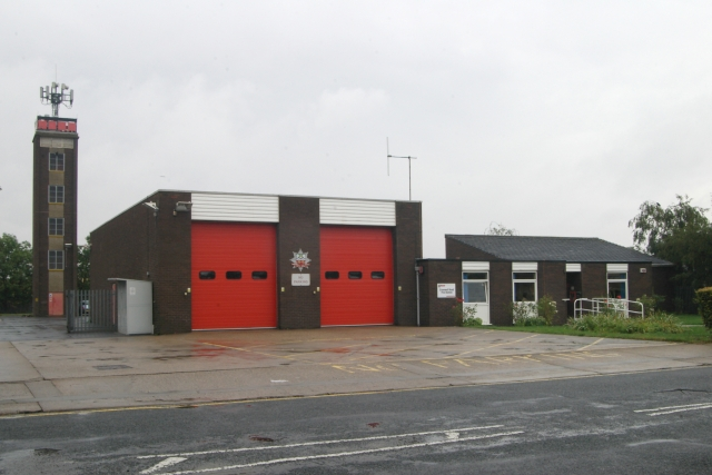 Grimsby West fire station