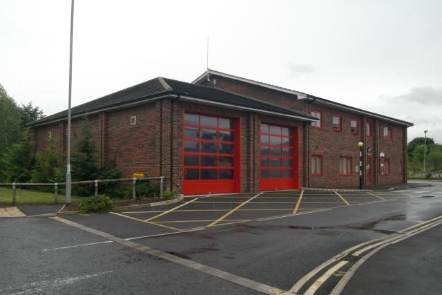 Market Rasen fire station