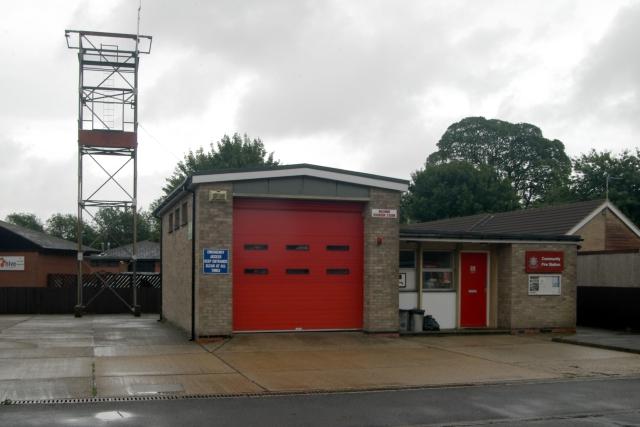 Binbrook fire station