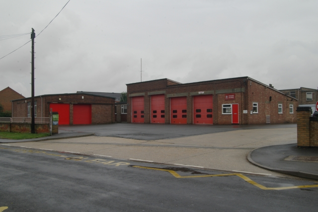 Louth fire station