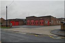 TF3387 : Louth fire station by Kevin Hale