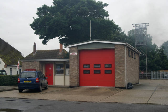 North Somercoates fire station