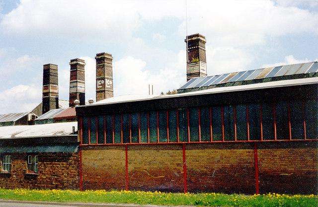 Lilleshall Co's Brick & Tile factory, Snedshill, Oakengates