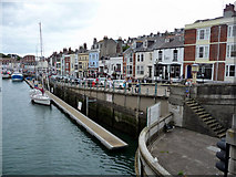 SY6778 : Quayside, Weymouth, Dorset by Christine Matthews