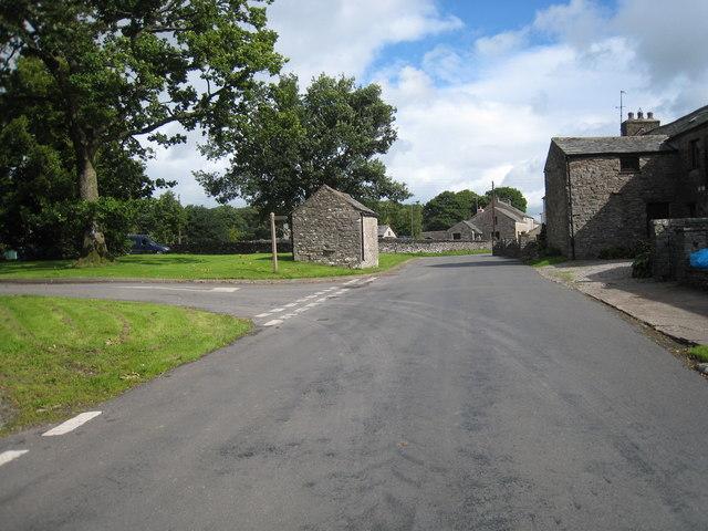 Road junction in Town Head
