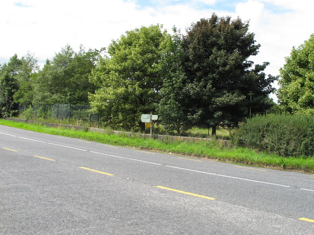 N69 at junction to R859