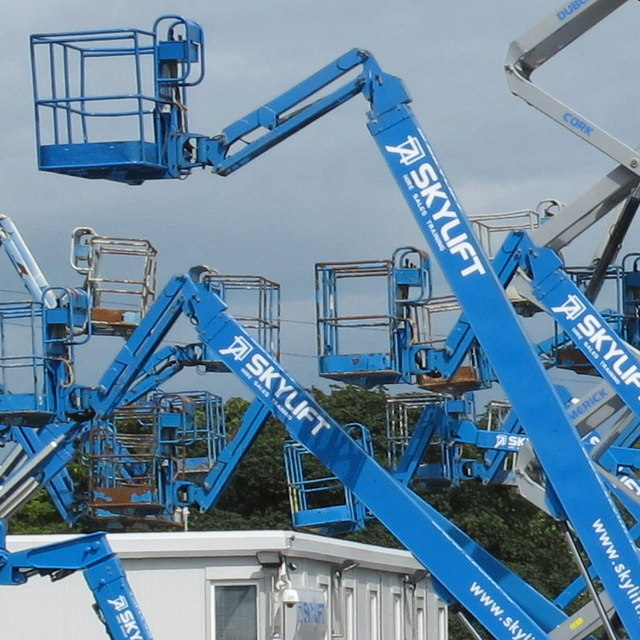 Forest of Skylifts at Mungret