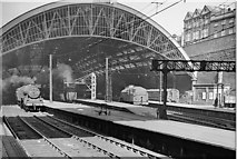 SJ3590 : Liverpool Lime Street Station in Steam days by Ben Brooksbank