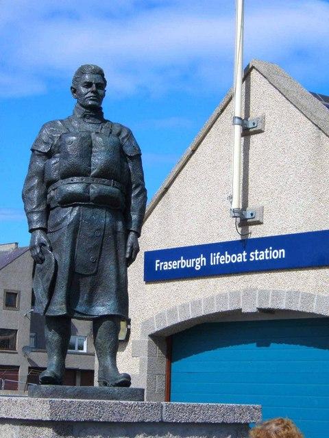 Fraserburgh Lifeboat Memorial