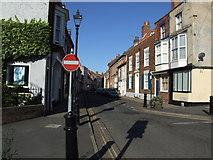 TA1767 : No entry to High Street, Bridlington by Stefan De Wit