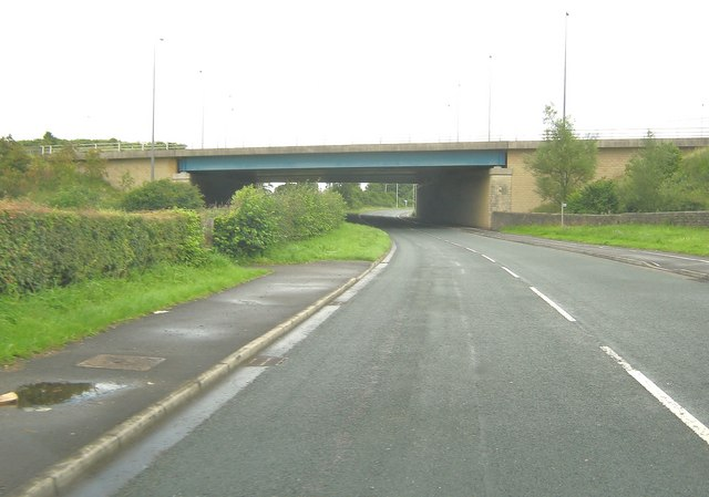 A49 bamber bridge