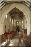 SP7014 : Interior of St Mary's church, Ashendon by Roger Davies